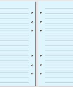 Бланки в линейку Filofax Personal blue