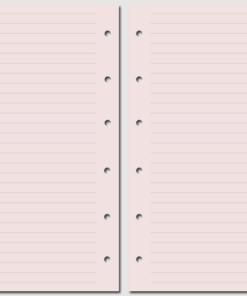 Бланк в линейку Pocket розовый