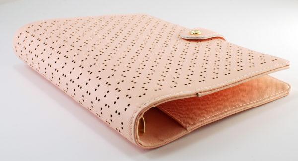 Органайзер Dokibook, perfoforared pattern, A5, pink