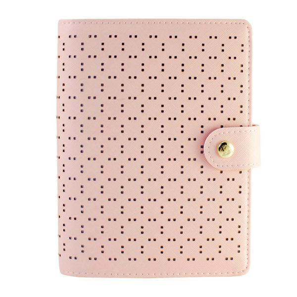 Органайзер Dokibook, perforated pattern, pink