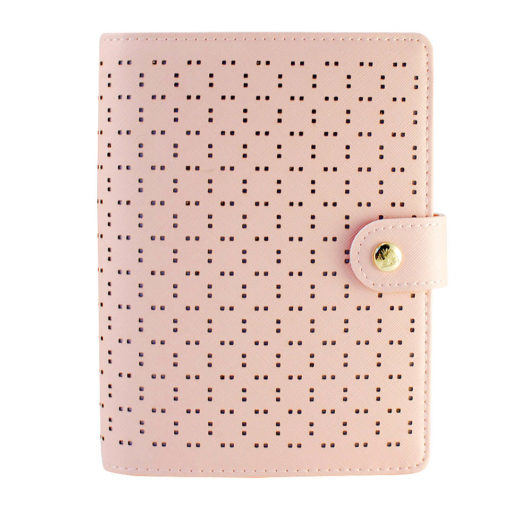 Органайзер Dokibook, perforated pattern, pink