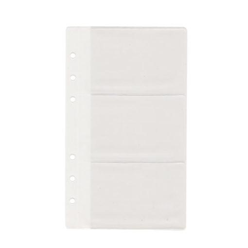 Кармашек для визиток, для Filofax Personal