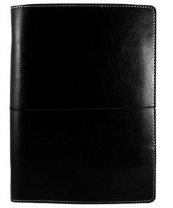 Органайзер DUGA, A5, черный, на резинке