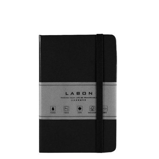 Записная книжка Labons, в клетку, black, Pocket